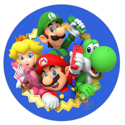 OBLEA SUPER MARIO BROS. 00196