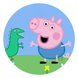 OBLEA PEPPA PIG. REF. 00122