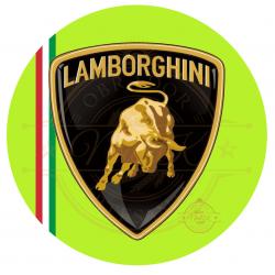 OBLEA LAMBORGHINI. REF. 00263