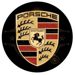 OBLEA PORSCHE. REF. 00264