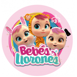 OBLEA BEBES LLORONES. REF....