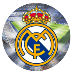OBLEA REAL MADRID. REF. 00038