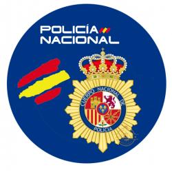 OBLEA POLICIA NACIONAL. REF...